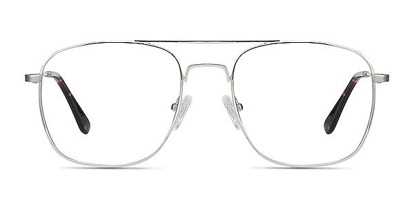 Fame Argenté Métal Montures de lunettes de vue