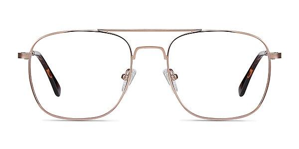 Fame Rose Gold Métal Montures de lunettes de vue