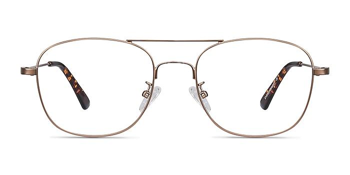 Courser Rose Gold Métal Montures de lunettes de vue d'EyeBuyDirect