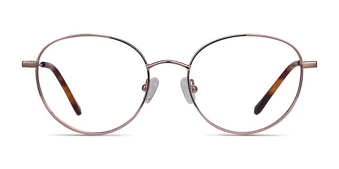 Twirl Rose Gold Métal Montures de lunettes de vue d'EyeBuyDirect