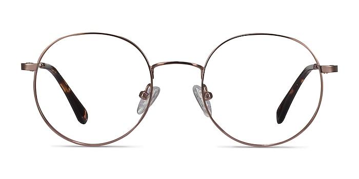 Streetwise Rose Gold Metal Eyeglass Frames from EyeBuyDirect