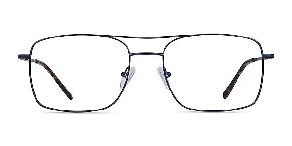 Daymo Navy Metal Eyeglass Frames
