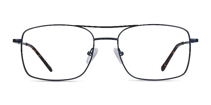 Daymo Navy Metal Eyeglass Frames from EyeBuyDirect