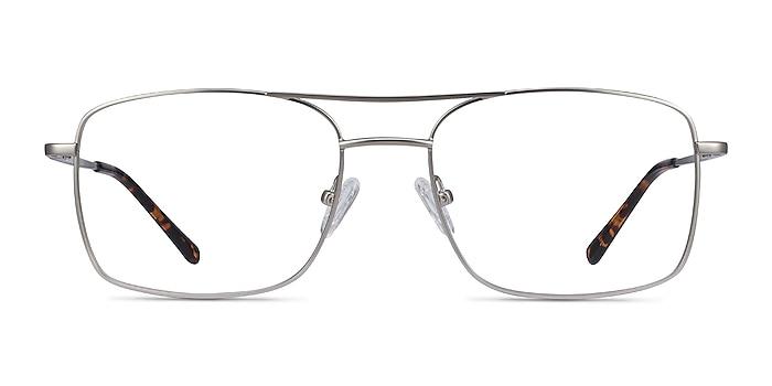 Daymo Silver Metal Eyeglass Frames from EyeBuyDirect