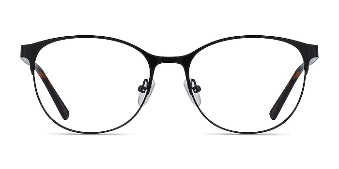 Kali Black Metal Eyeglass Frames from EyeBuyDirect