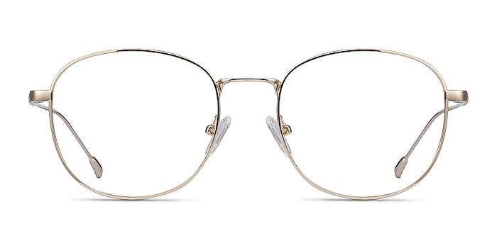 Vantage Doré Métal Montures de lunettes de vue d'EyeBuyDirect