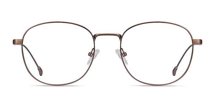 Vantage Matte Pink Metal Eyeglass Frames from EyeBuyDirect