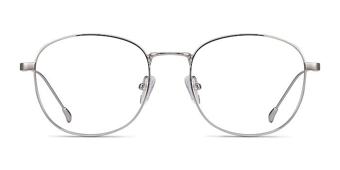 Vantage Argenté Métal Montures de lunettes de vue d'EyeBuyDirect