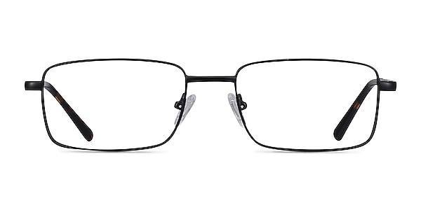 Arco Black Metal Eyeglass Frames