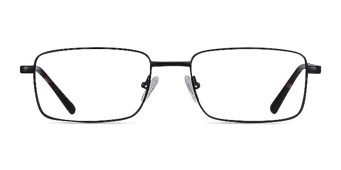 Arco Black Metal Eyeglass Frames from EyeBuyDirect