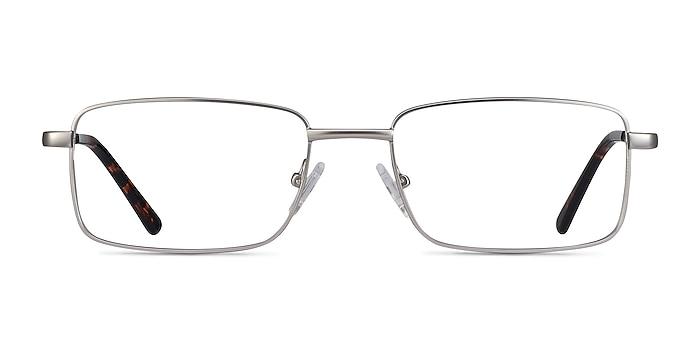Arco Silver Metal Eyeglass Frames from EyeBuyDirect