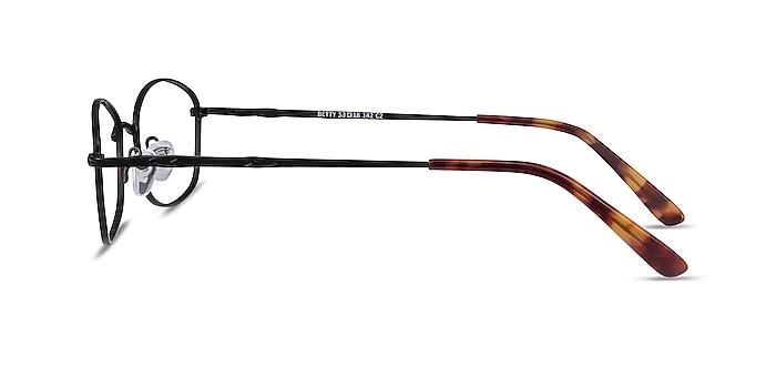 Betty Black Metal Eyeglass Frames from EyeBuyDirect