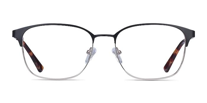 Chambery Black Metal Eyeglass Frames from EyeBuyDirect