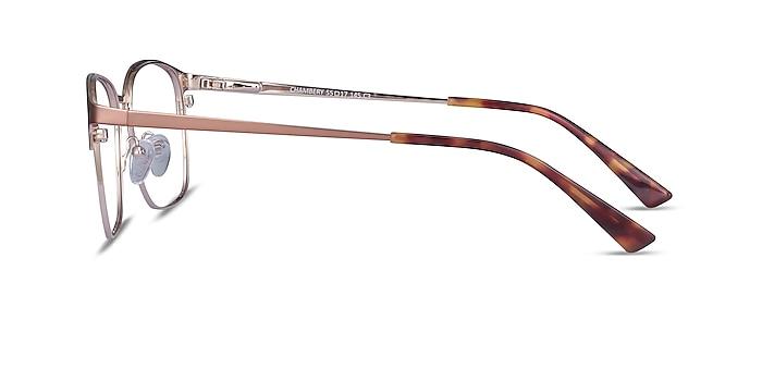 Chambery Rose Gold Metal Eyeglass Frames from EyeBuyDirect