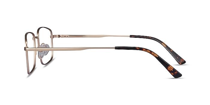 Onex Gold Metal Eyeglass Frames from EyeBuyDirect