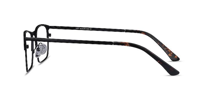 Vigo Black Metal Eyeglass Frames from EyeBuyDirect