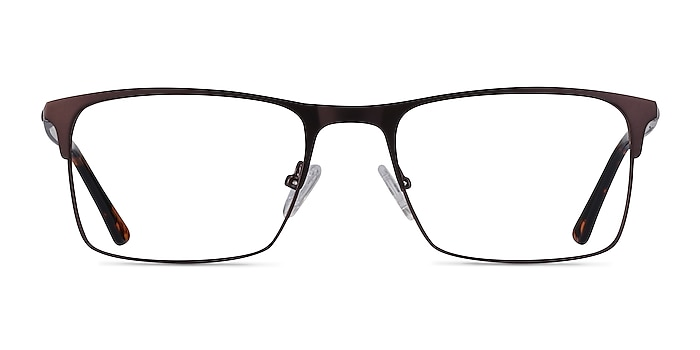 Vigo Coffee Metal Eyeglass Frames from EyeBuyDirect