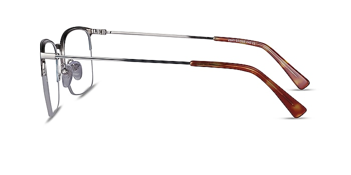 Vimy Bleu Métal Montures de lunettes de vue d'EyeBuyDirect