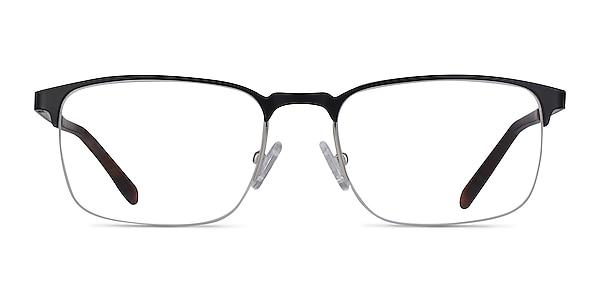 Valery Noir Métal Montures de lunettes de vue