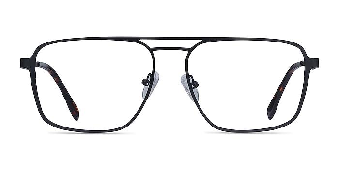 Gallo Black Metal Eyeglass Frames from EyeBuyDirect