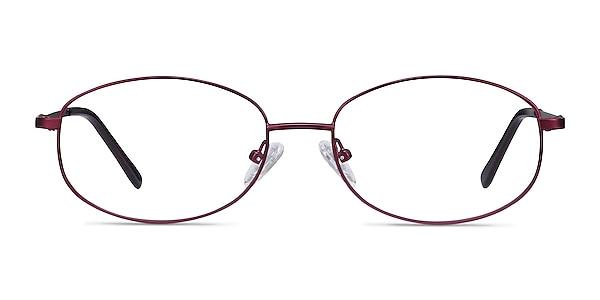 Embrace Purple Metal Eyeglass Frames