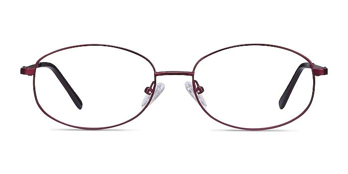 Embrace Purple Metal Eyeglass Frames from EyeBuyDirect