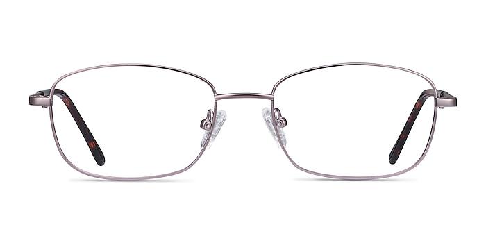 Path Purple Metal Eyeglass Frames from EyeBuyDirect