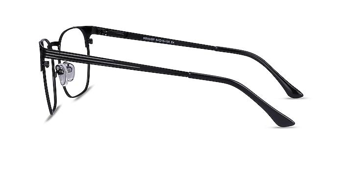 Soulist Black Metal Eyeglass Frames from EyeBuyDirect