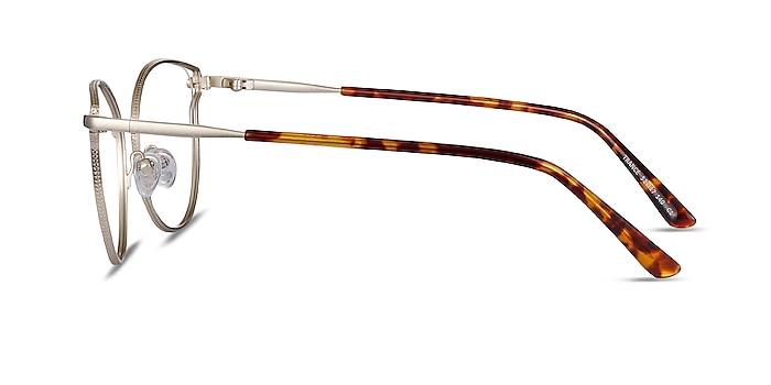 Trance Gold Metal Eyeglass Frames from EyeBuyDirect