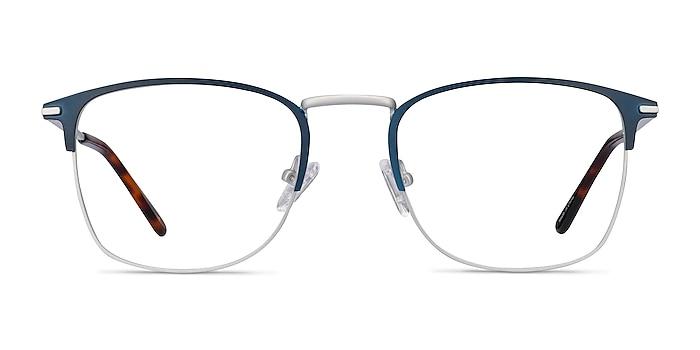 Poppy Bleu marine  Métal Montures de lunettes de vue d'EyeBuyDirect