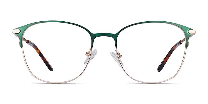 Disperse Green Metal Eyeglass Frames from EyeBuyDirect
