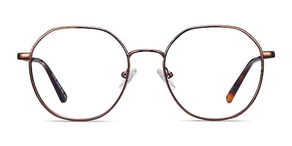 Sylvie Brown Metal Eyeglass Frames