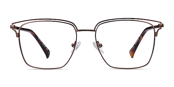 Hewitt Coffe Metal Eyeglass Frames