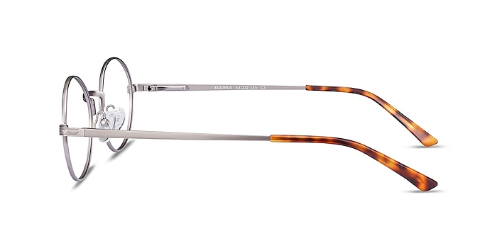 Equinox Gunmetal Metal Eyeglass Frames from EyeBuyDirect