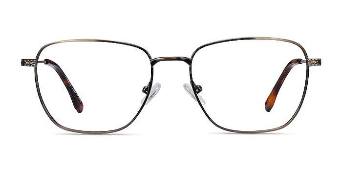 Throne Bronze Metal Eyeglass Frames from EyeBuyDirect