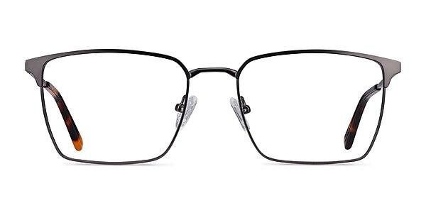 Metro Gunmetal Metal Eyeglass Frames