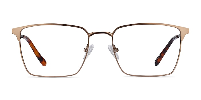 Metro Coffee Metal Eyeglass Frames from EyeBuyDirect