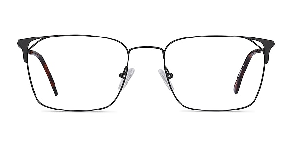 Emett Black Metal Eyeglass Frames