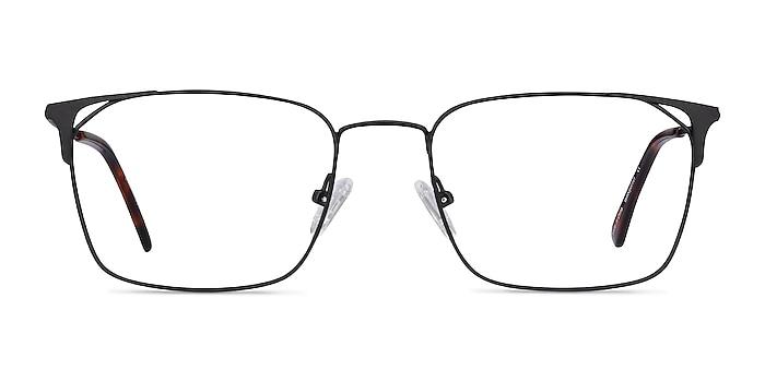 Emett Black Metal Eyeglass Frames from EyeBuyDirect
