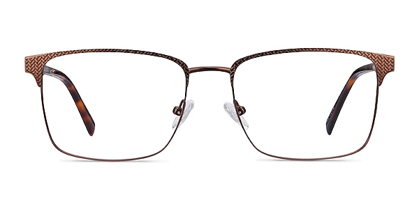 Capra Bronze Acetate-metal Eyeglass Frames