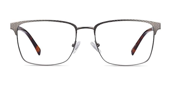 Capra Gunmetal Acetate-metal Eyeglass Frames from EyeBuyDirect