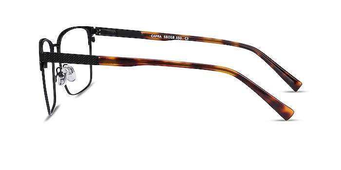 Capra Black Acetate-metal Eyeglass Frames from EyeBuyDirect