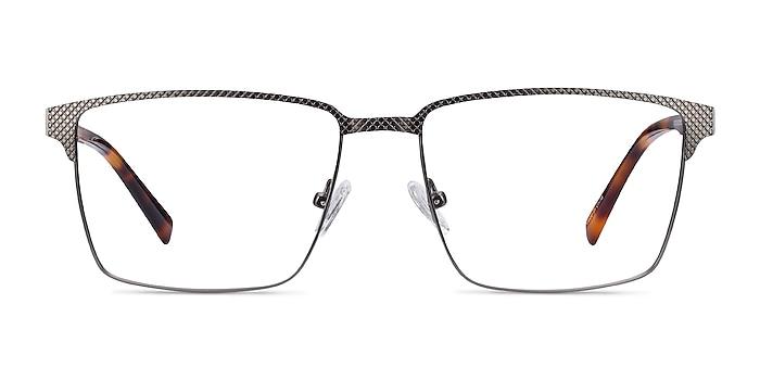 Douglas Gunmetal Metal Eyeglass Frames from EyeBuyDirect