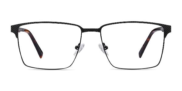 Douglas Black Metal Eyeglass Frames