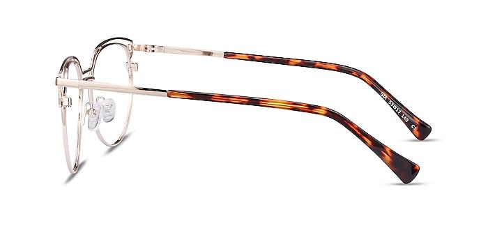 Gia Doré Métal Montures de lunettes de vue d'EyeBuyDirect