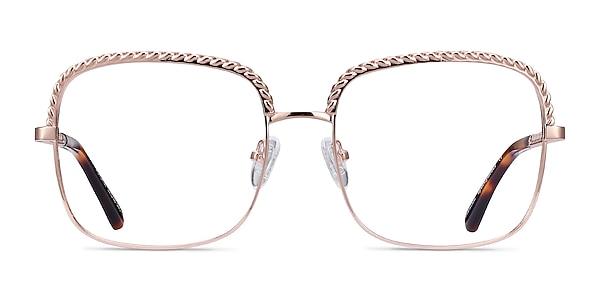 Astoria Rose Gold Metal Eyeglass Frames