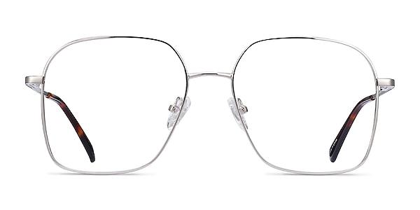 Roman Silver Metal Eyeglass Frames