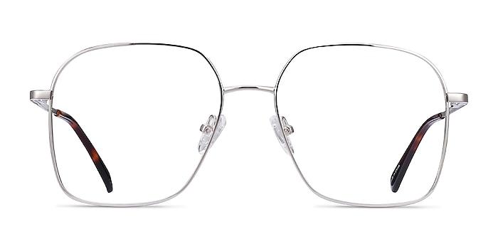Roman Silver Metal Eyeglass Frames from EyeBuyDirect