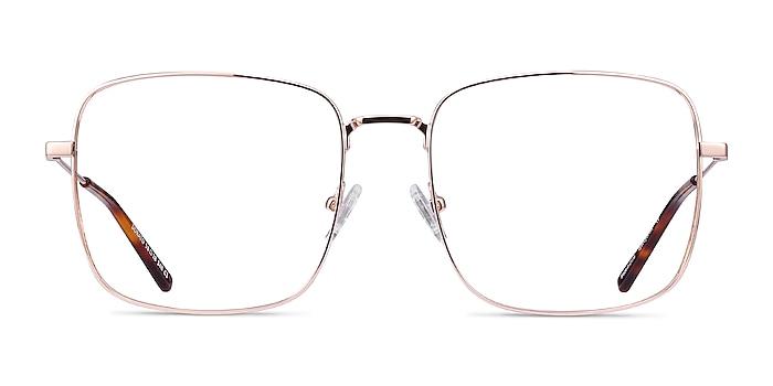Dorato Rose Gold Metal Eyeglass Frames from EyeBuyDirect