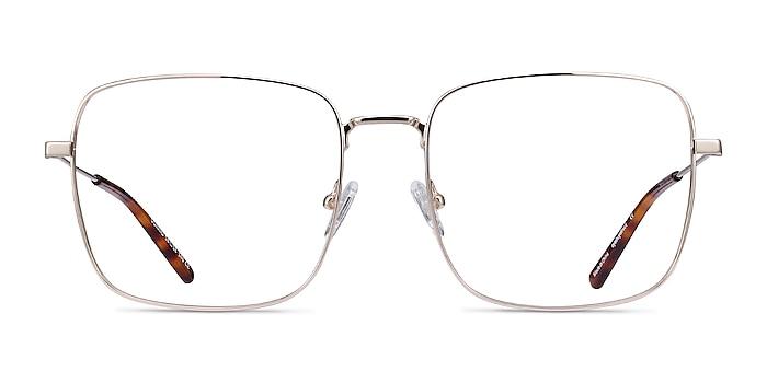 Dorato Doré Métal Montures de lunettes de vue d'EyeBuyDirect